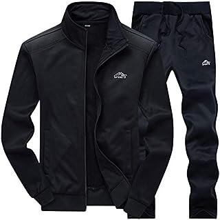 AOTORR Men's Tracksuit Athletic Sports Casual Full Zip Warm Jogging Sweatsuit