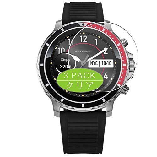 Vaxson 3 Stück Schutzfolie, kompatibel mit Citizen CZ smart watch Smartwatch, Displayschutzfolie Bildschirmschutz Blasenfreies [nicht Panzerglas]