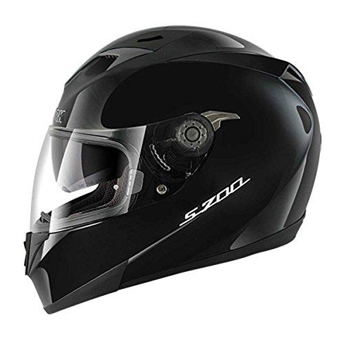 Shark S700 S Prime - Integralhelm, Farbe schwarz, Größe M (57/58)