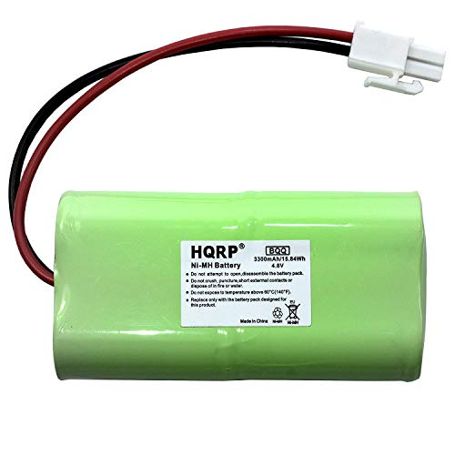 HQRP Batería Recargable para Mosquito Magnet HHD10006 / MM565021 Liberty Plus, Executive Trap, Commandant Trap MMBATTERY / MM3100 / MM3300 / MM3400 / 565-021 / H-SC3000X4 + HQRP Posavasos