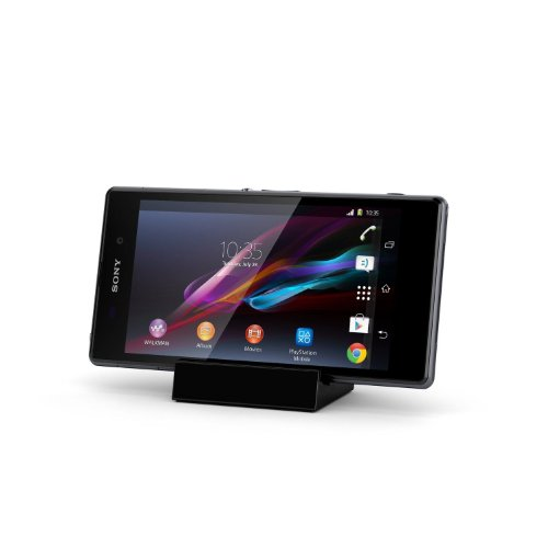 Ex-Pro® Sony Magnetic Charging Dock for Sony XL39H Xperia Z1 L39H, Z2 - Black.