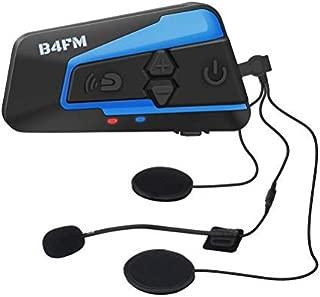LX-B4FM バイク インカム 4riders 4人同時通話 FMラジオ bluetooth インターコム 高音質防水 無線機いんかむ バイクインカム2種類マイク 日本語取扱