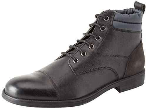 Geox Herren U Jaylon I Chukka Boots, Schwarz (Black/Dk Grey C0005), 42 EU