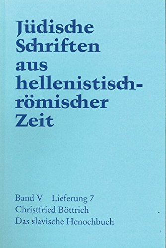 Jüdische Schriften aus hellenistisch-römischer Zeit, Bd 5: Apokalypsen: Das slavische  Henochbuch