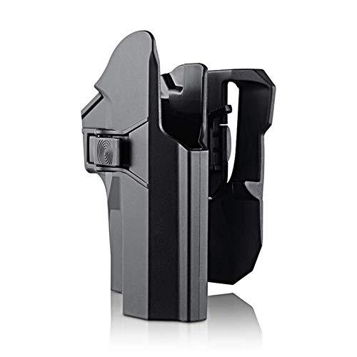 D&XQX Sig Sauer Pistolera De La Pistola, Paddle Pistolera para Sig Sauer P226 P227 P228 P229, 360 ° De Rotación, De Liberación Rápida, Polymer Pistola Pistoleras
