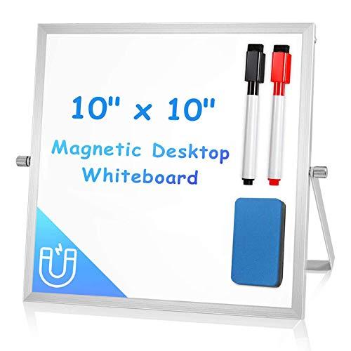 10x10 Whiteboard for Desk