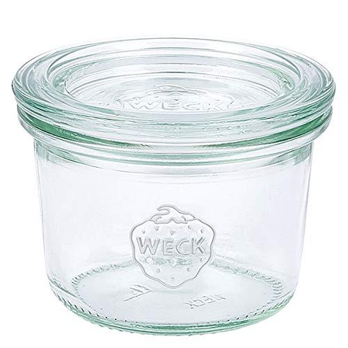 6x WECK-Mini-Sturzglas 80ml mit Deckel