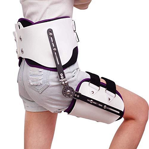 WANGXN Hip Ajustable Conjunta Brace luxación de Cadera Ortesis de Abducción de fijación de la bisagra de la Cintura Ajustable Aparato ortopédico de Pierna Lesiones de fémur,Light