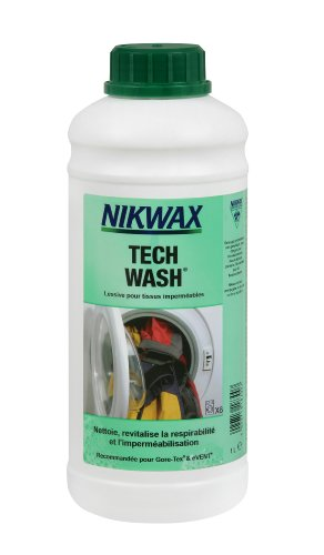 Nikwax Tech Wash Nettoyant doux pour vêtements et équipements imperméables