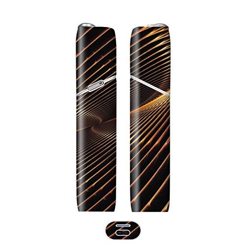 電子たばこ タバコ 煙草 喫煙具 専用スキンシール 対応機種 iQOS 3 MULTI アイコス 3 マルチ Metal (メタル) イメージデザイン 06 Metal (メタル) 01-iq07-0046