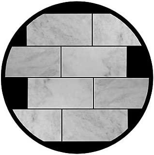 Carrara Marble Italian White Bianco Carrera 12x24 Marble Tile Polished