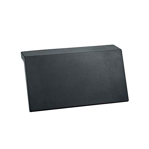Belleashy Bañera Almohada No Slip de bañera Almohada de Gama Alta PU Durable de Piel Integral a Prueba de Agua de baño Accesorios de baño Almohada Impermeable (Color : Black, Size : 31 x 14m)