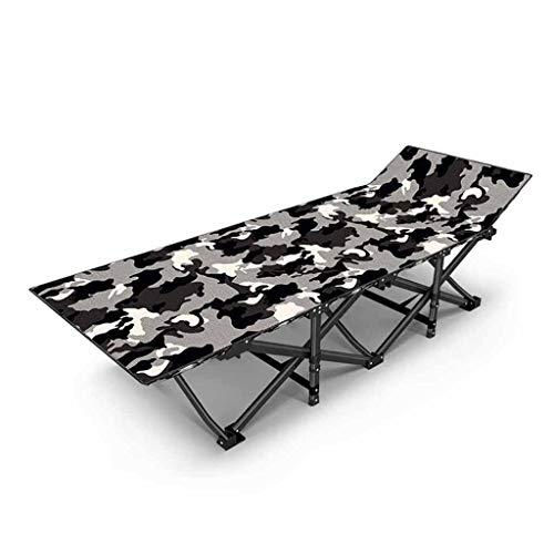 Lits de Camp et hamacs Lits D'appoint Pliants Lit De Camping De Voyage en Plein Air Lit De Rechange Lit De Bureau Chaise Longue De Maison Charge 200kg Mobilier de Camping