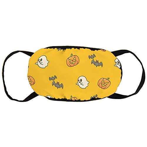 Calabazas y diablillos negros de algodón para Halloween, suave, fácil de transportar para hombres y mujeres
