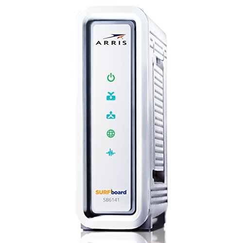 ARRIS SURFboard SB6141RB 8x4 DOCSIS 30 Cable Modem Renewed