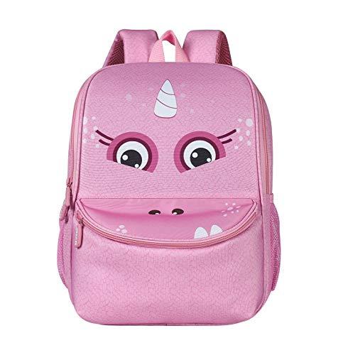 CAMLAKEE Children's Backpacks, Toddler School Bags Preschool Backpack 3D Animal Rucksack for Girls Boys 3-6 Years Old Pink