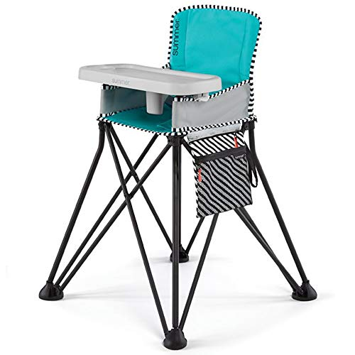 Summer Pop 'n Sit SE Highchair (Sweetlife Edition), Aqua Sugar
