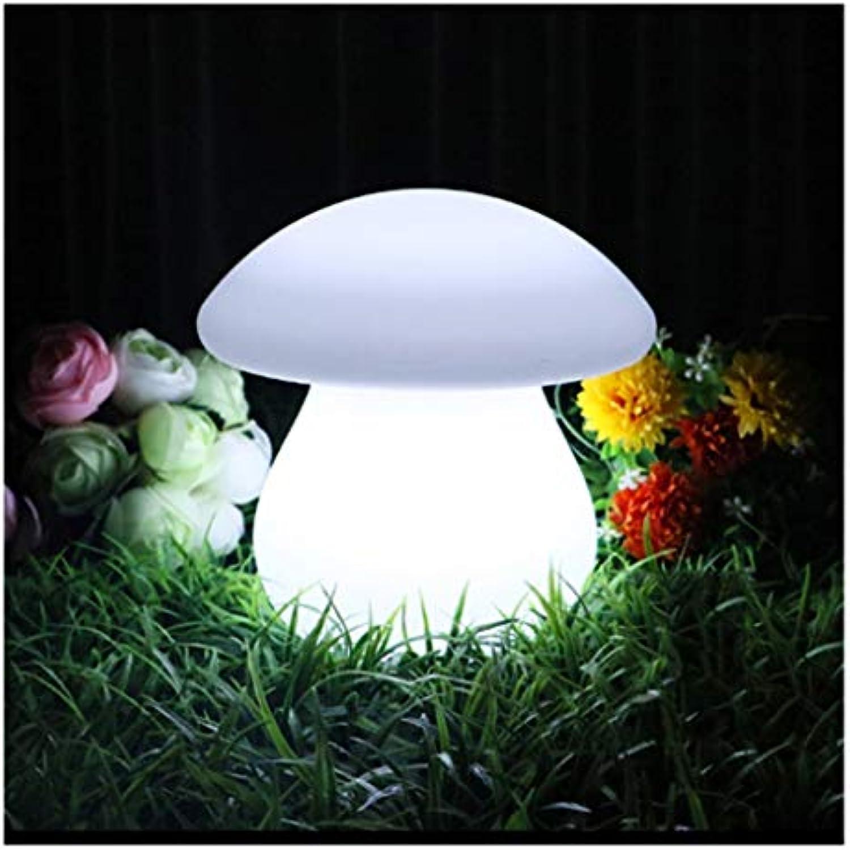 CRR LED Nachtlicht Einfache Aufladung Dekorative Tischlampe Schlafzimmer Bunte Nachtlicht Kreative Pilz Licht