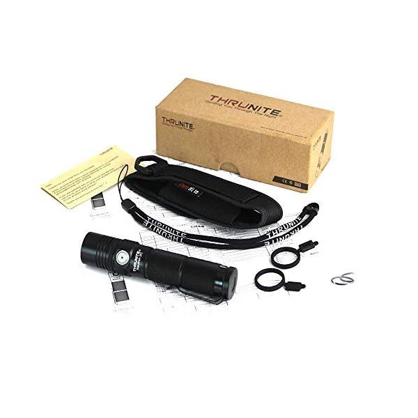 ThruNite Neutron 2C V3 LED Torch, Flashlight Torch with 1100 Lumens, Micro-USB USB Rechargeable Flashlight, CREE XP-L V6… 1