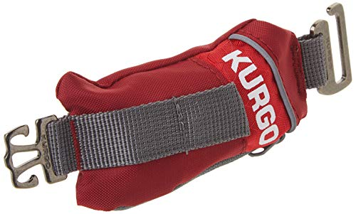 Kurgo Duty Bag for Dogs, Refillable Dog Poop Bag Dispenser, Dispenser with Dog Waste Bags, Attaches to Any Leash, Machine Washable, Universal Design, Convenient Hook for Used Waste Bags