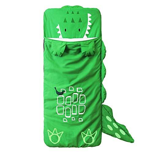 HIUGHJ Tiere Schlafsack Schlafsack Wickeln süße Dicke warme Socken Bettwäsche Kinder Sack Kleinkind Kleinkind Winter Cartoon, grün