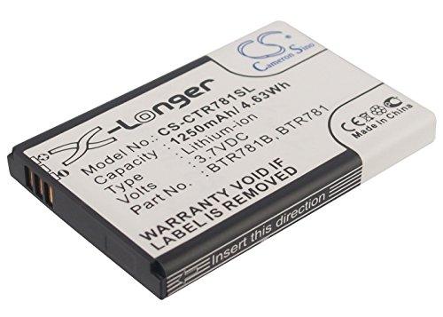 Cameron Sino 1250mAh Battery for Casio C781, GzOne Ravine 2