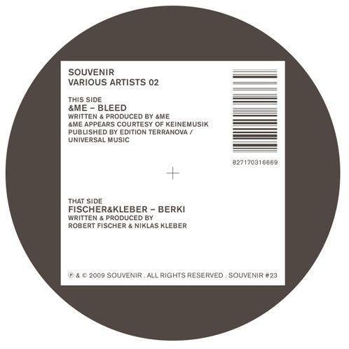 &Me, Fischer & Kleber - Souvenir Various Artists 02 - Souvenir - Souvenir #023