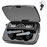 Bluetooth 5.1 Wireless Earbuds,【180Hrs Charging Case】 Smart Touch Control Bluetooth Headphones, IPX7 Waterproof Sport Headphones, 20 Hours,for iPhone/Samsung/Android AirPods Pro Apple Earbuds,Black
