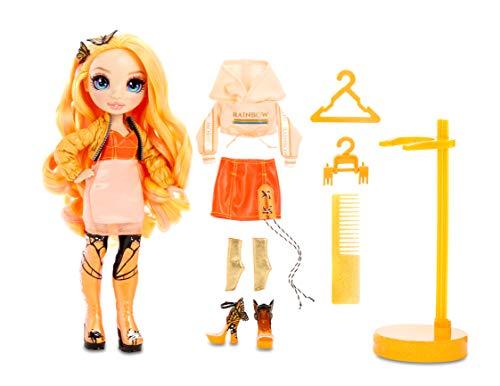 L.O.L. Surprise! 561804E7C O.M.G. Winter Disco Fashion Doll Cosmic Nova and Little Sister, Fashionpuppe mit Haaren und kleine Puppenschwester zum Sammeln, 25 Überraschungen