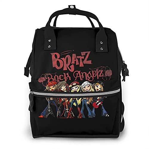 Bra-Tz - Mochila para mamá, bolsa para pañales, bolsa de pañales de viaje, mochila de enfermería multifuncional