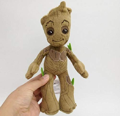 shenlanyu Juguete de Peluche Kid Toy 22cm Groot Stuffed Plush Toys Baby Tree Man Stuff Doll Toys