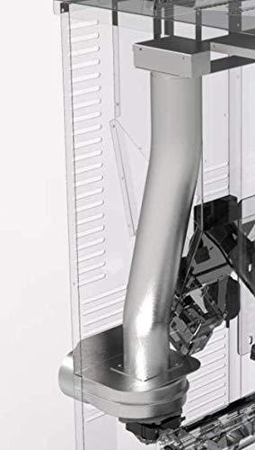 Kit canalizzazione con tubo e motore per stufa a pellet Courmayeur San Marco