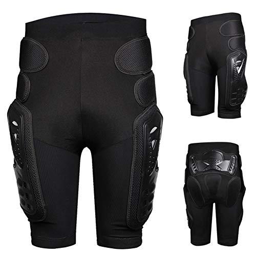 funihut Schutzhosen Gepolsterte Protektorhosen Schutz Rüstung Hosen Shorts Widerstand Atmungsaktive Sporthose für Motorrad Fahrrad Ski Snowboard Skater