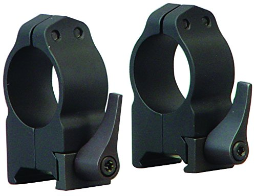 Warne 1 Inch Quick Detach Rings Medium Matte 201LM
