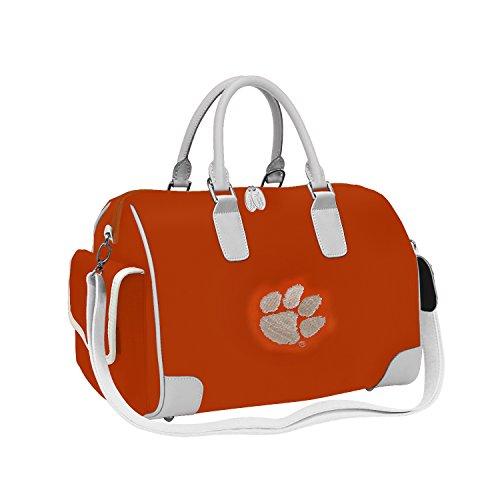 Charm14 NCAA Deluxe Damen Handtasche, Damen, Orange, 15