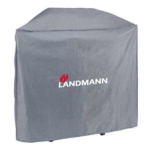 Landmann Premium Wetterschutzhaube | Aus robustem Polyestergewebe & Wasserdicht | UV-beständig, Atmungsaktiv & Kältebeständig | Geeignet für den Triton PTS 2.1 / -maxX [59 x 127,5 x 117 cm]