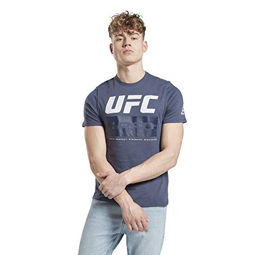 Reebok UFC FG Fight Week tee Camiseta, Hombre, smoind, S