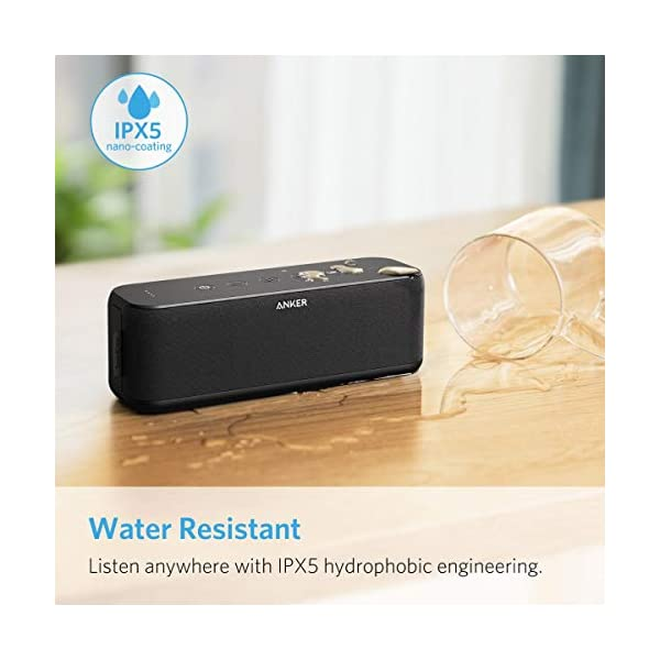 Bluetooth Speaker with BassUp Technology,  12H Playtime, IPX5 Water-Resistant, Portable Speaker with Superior Sound & Bass for iPhone, Samsung and More 6