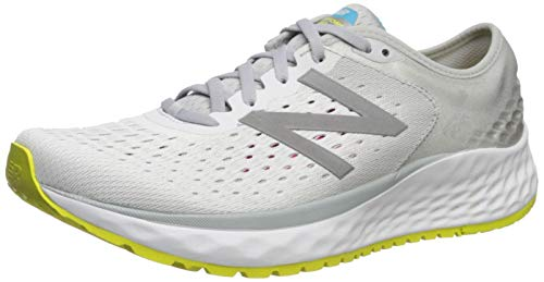New Balance Women's 1080v9 Fresh Foam Running Shoe, Light Aluminum/Silver, 7 M US
