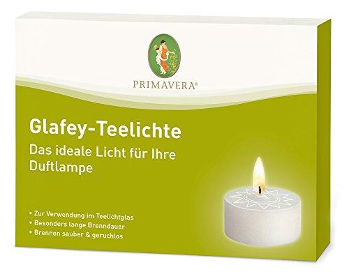 Primavera Glafey-Teelichter, 12 Stück (ohne Aluhülle)
