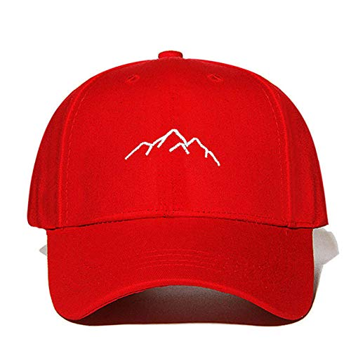 Xynhed muts, eenvoudig geborduurd, berg, honkbalmuts, mode, hip-hop, outdoor-sport, zonnehoed