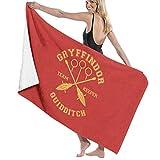 U/K Gryffindor - Toalla de baño de secado rápido