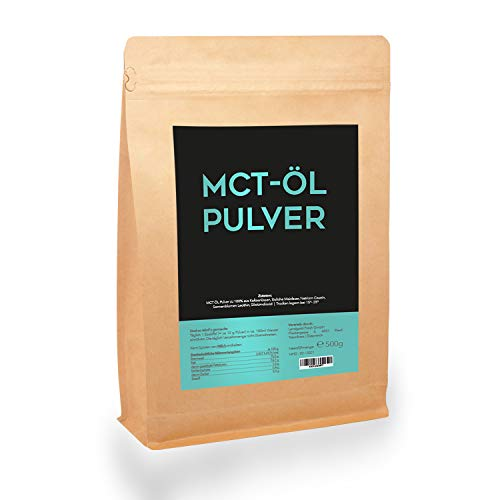 MCT-Öl Pulver ACTIVEVITAL Kokos Keto Bulletproof 500g + GRATIS E-BOOK
