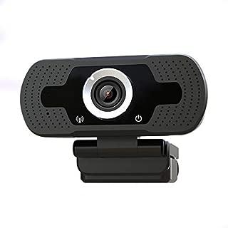 Anivia 720p Webcam W2, USB Desktop Laptop Camera, Mini Plug and Play Video Calling Computer Camera, Built-in Mic, Flexible Rotatable Clip