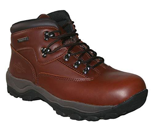 Northwest Territory - Botas de trabajo impermeables para hombre, de piel, para senderismo, senderismo, color, talla 42 2/3 EU