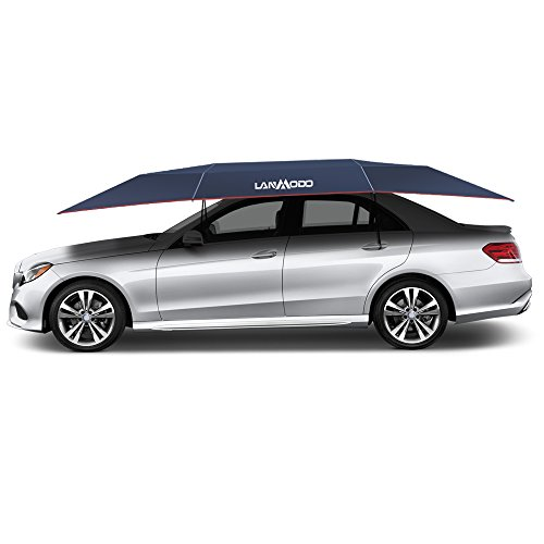 【AUTOMATIC CAR TENT, EASY TO INSTALL .】Lanmodo car tent is easy to install with one-touch wireless remote. Automatically fold and unfold with a remote control, its open process takes 8 seconds and the total installation process only takes 30 seconds....