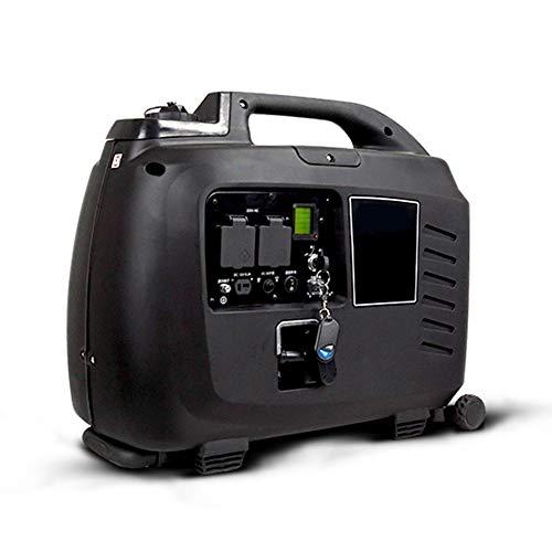 Generador De Gasolina De 3500 W, Conversión De Frecuencia Silenciosa Portátil Motor De Hogar De Alta Potencia Fuente De Alimentación De Hogar Al Aire Libre Almacenamiento De Energía,OneSize