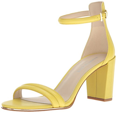 Kenneth Cole New York Women's Lex Dress Pump, Lemon/Emb Leather, 8.5 M US