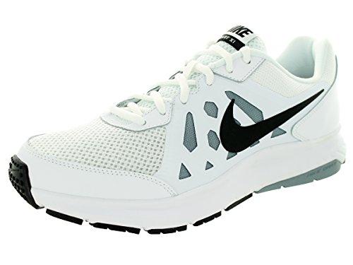 NIKE Men's Dart 11 White/Black/Dove Grey/White Running Shoe 9 Men US