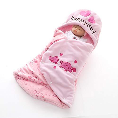 Liuxiaomiao Sac de Couchage bébé Bébé Swaddle Wrap bébé Enfant en Bas âge Peignoir Couverture de Serviette avec Capuchon for Le Bain Piscine Douche Cadeau Bébé Universel Mignon Nouveau-né